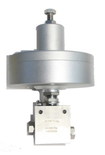 air operated needle valve